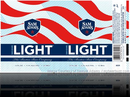 mybeerbuzz.com - Bringing Good Beers & Good People Together...: Samuel Adams Adding New Sam Adams Light Cans
