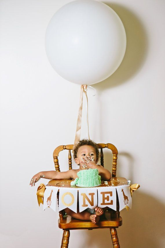 First Birthday Boy First Birthday Highchair By Sweetgeorgiasweet