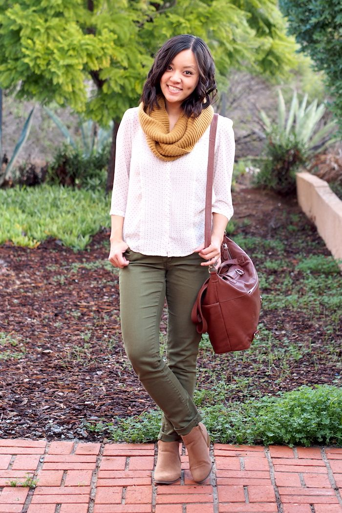 Olive and Mustard Mixed With Neutrals