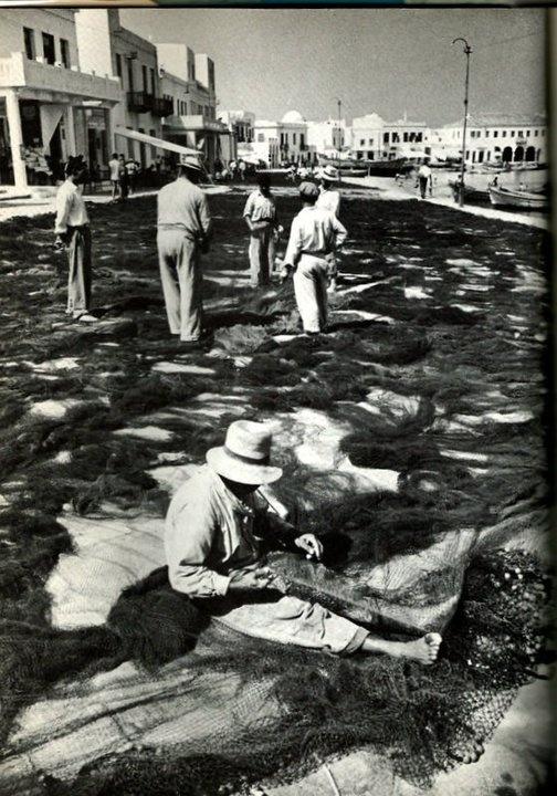 Myconos in 1950's