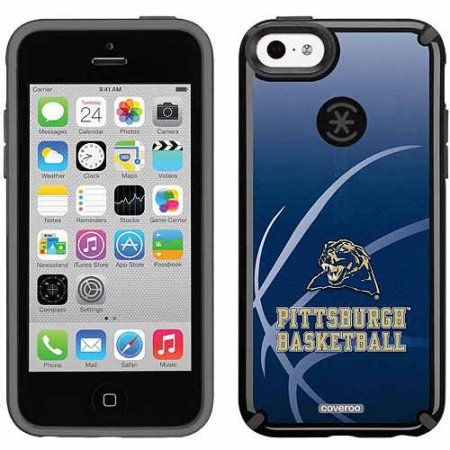 University of Pittsburgh Basketball Design on Apple iPhone 5c CandyShell Case by Speck