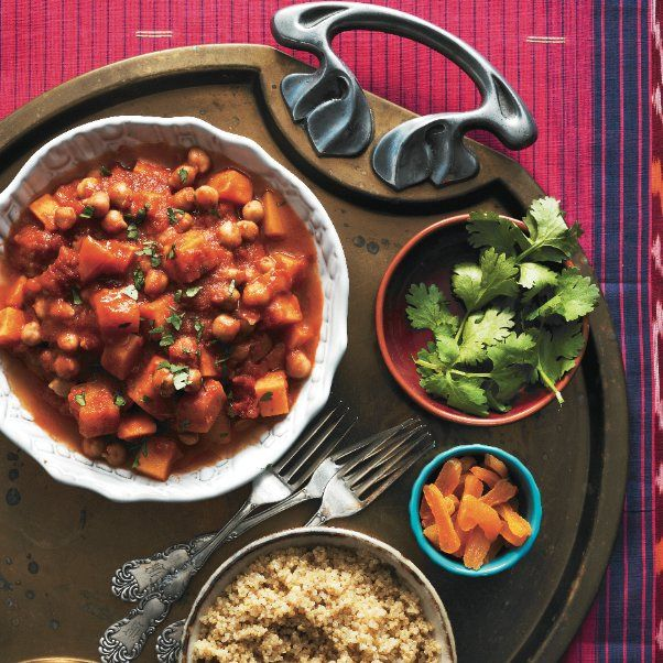 Moroccan vegetable stew slow-cooker recipe - Chatelaine.com