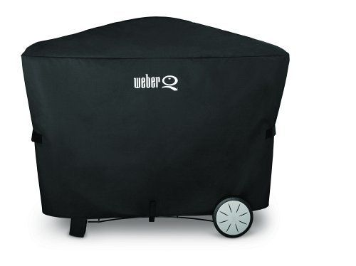 Weber 7112 Q 2000 And 3000 Series Grill Cover With Storage Bag 56 6 X 22 X 39 3 Inches See This Great Product Outdoor Storage Grill Cover