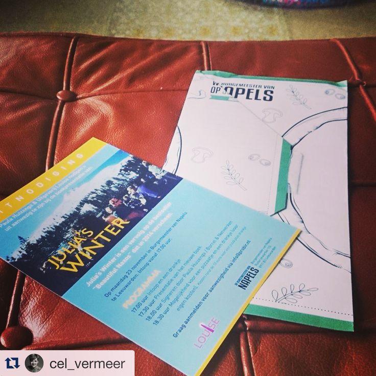 Uitnodiging #boekpresentatie ( foto via @marcellavermeer )