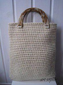 Veľké tašky - Prírodná vlnená do ruky - ihneď... - 4438880_