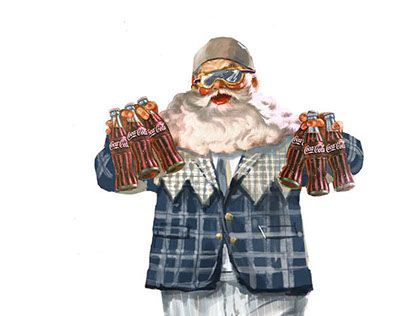 """Check out new work on my @Behance portfolio: """"Santa Claus"""" http://be.net/gallery/32361047/Santa-Claus"""