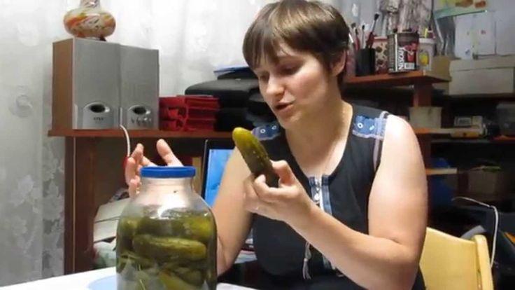 Семья Бровченко. Рецепт соленых огурчиков, которые не перекисают.