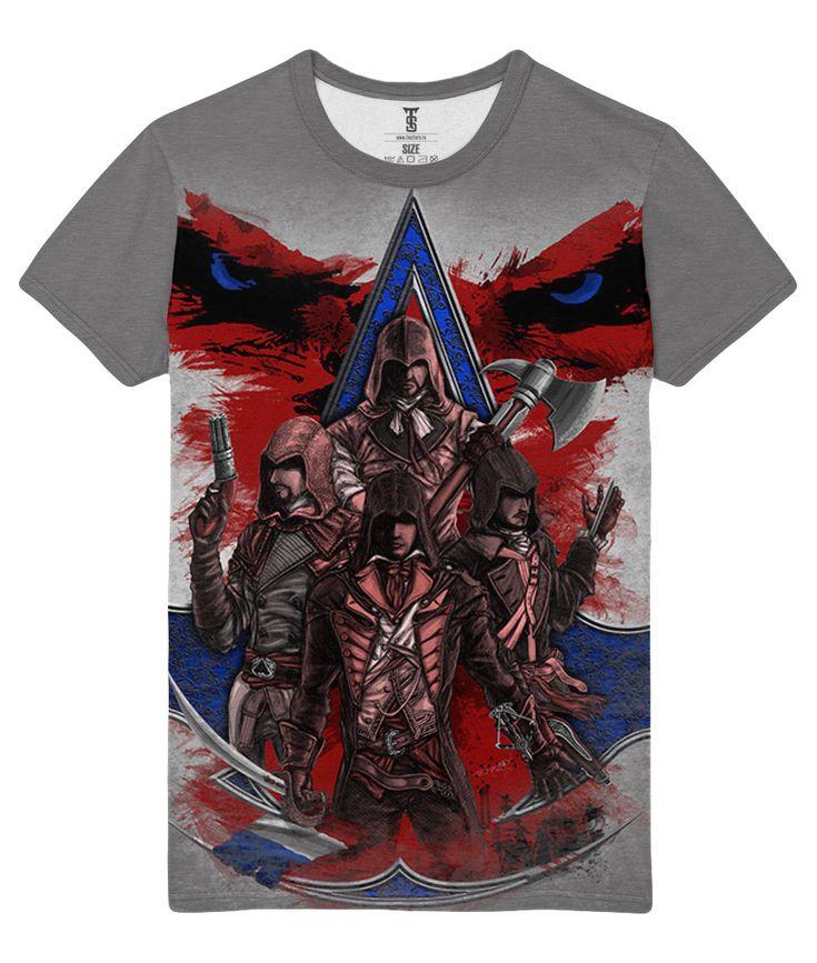 nice T-shirt All Assassins Creed Arno Desmond Kenway Adéwalé Loot Merch  -   #amazon #Apparels #australia #boy #buy #ebay #Female #girls #india #kids #loot #Male #merch #merchandise #purchase #shirts #t-shirts #ukMerch