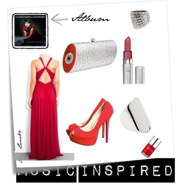 """Alessandra Amoroso, Amore puro"" - New Year's Eve Inspiration  Read the post >> http://litalospagnola.blogspot.it/2014/01/i-look-ispirati-ai-dischi-new-years-eve.html #music #fashion #Italy #Spain"
