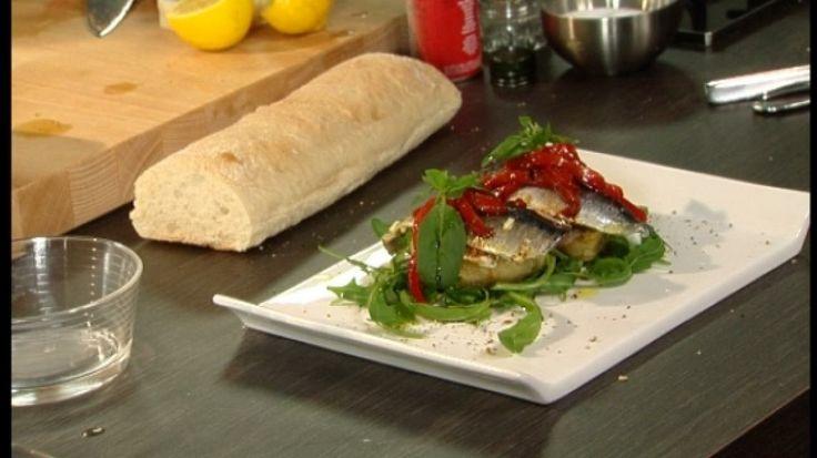 Bruschetta met gemarineerde sardientjes | VTM Koken