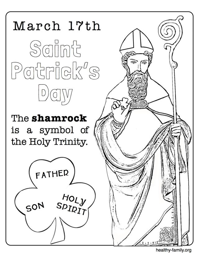 Saint Patrick Coloring Sheets In 2020 St Patricks Sunday School