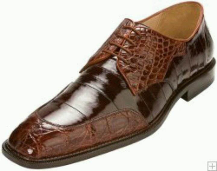 Belvedere Exotic Shoes 'n Brown Lizard