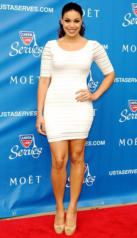 Jordin Sparks attends the US Open Opening Night Ceremony on August 27, 2012 in New York City.