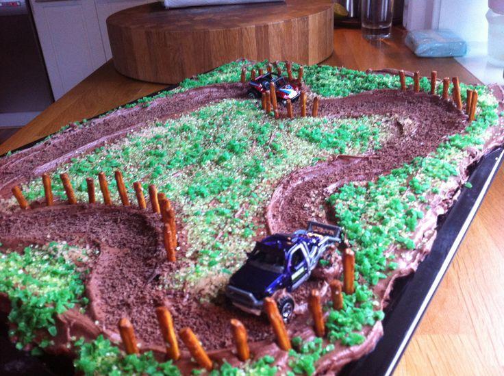 Barneselskap bursdag sjokoladekake