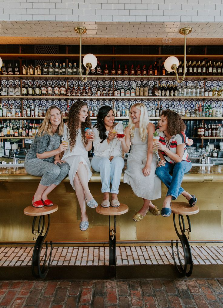 Cheers to love, friendship, celebrations, and craft cocktails. Bachelorette Bash at Soda & Swine, Liberty Station.  Green Wedding Shoes.  Botanicamuse by Madeleine Shelton Wedding and Event Florist – San Diego, California
