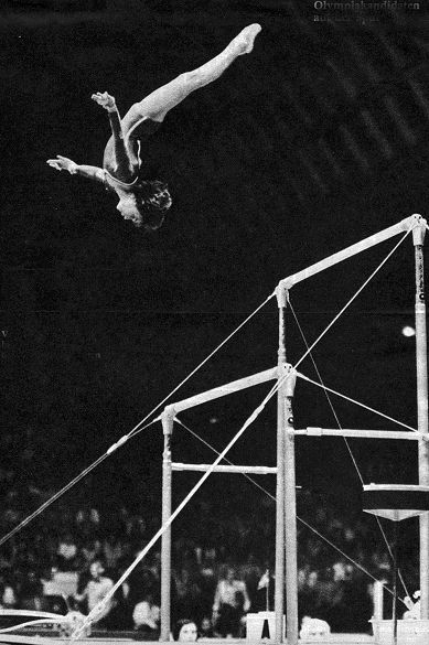 Amazing #vintage uneven bars photo! #gymnastics