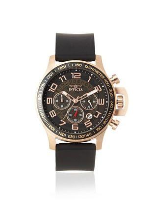 Invicta Men's 13805 Specialty Black Polyurethane Watch