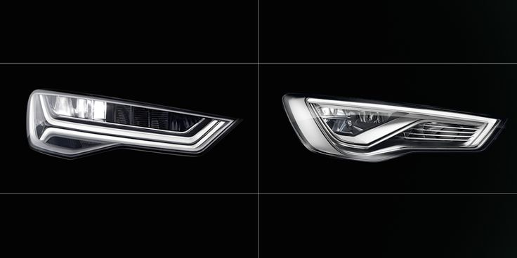 #Audi Headlight