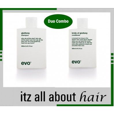 evo ® gluttony volume Duo Combo 1 x shampoo 1 x Conditioner