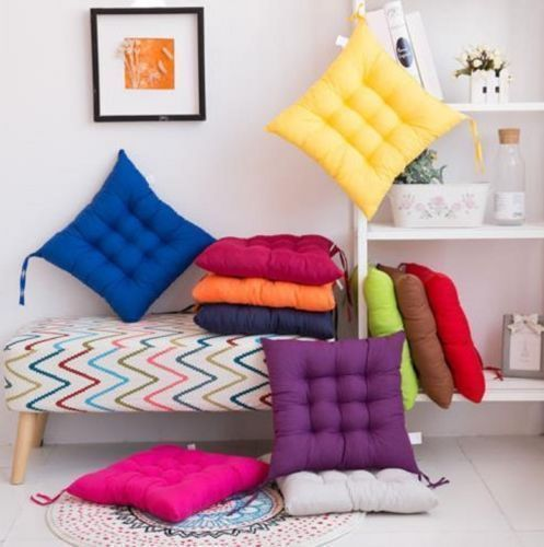 Colorful Dining Garden Chair Seat Pads Ties Cushion Soft Office Home Bedroom