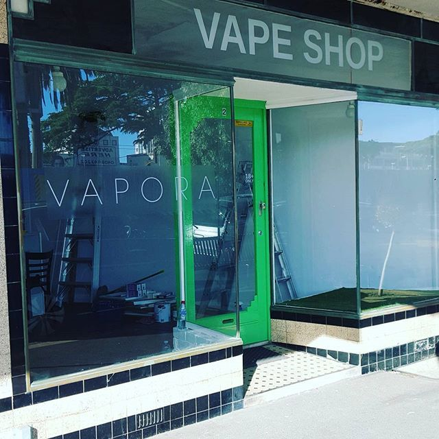 Just a few more days until the grand opening! #watchthisspace #vapeshop #aussievapers