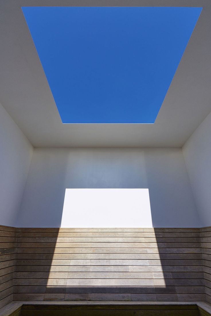 James Turrell's LightScape installation at Houghton Hall: Seldom Seen, 2002, one of the artist's Skyspaces. Photograph: Peter Huggins.