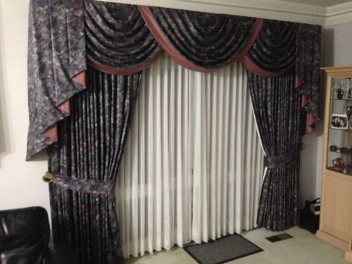 Curtains-Drapes-Shears-Swags   Curtain designs   Pinterest
