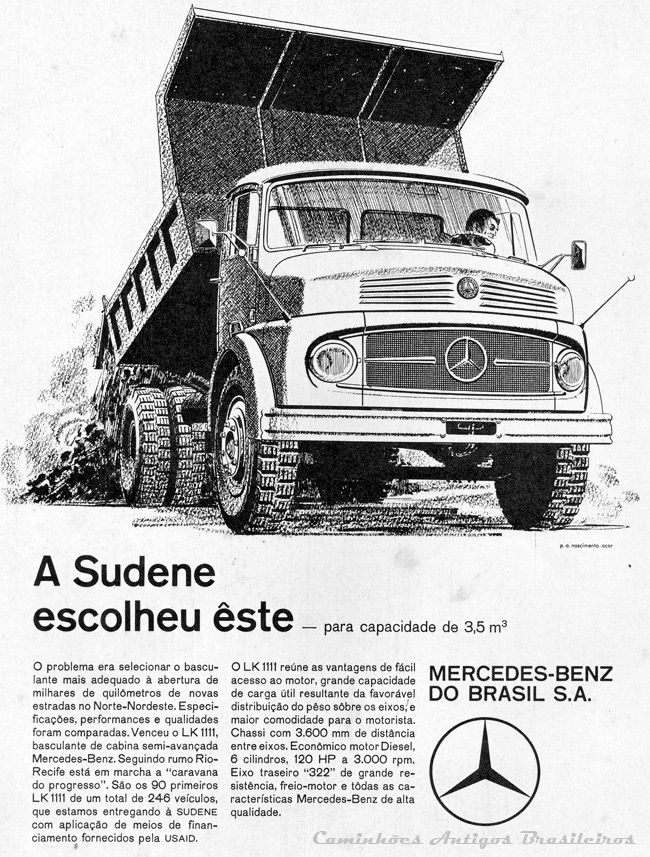 Mercedes-Benz 1111 4Rodas
