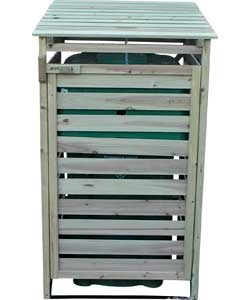 Buy Single Wheelie Bin Storer at Argos.co.uk - Your Online Shop for Plastic sheds and storage, Sheds, greenhouses and storage.