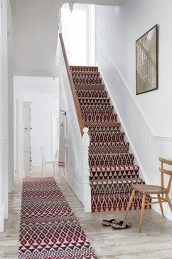 Alternative Hallways - traditional - Staircase - South East - Alternative Flooring
