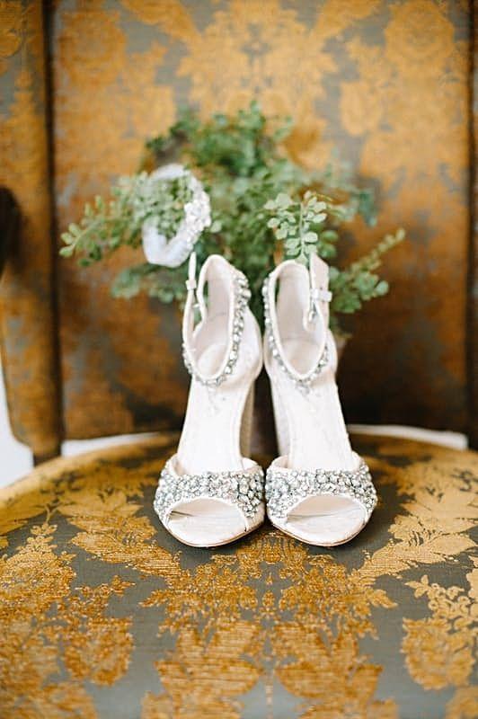 39 best Wedding shoes images on Pinterest   Bridal shoe, Wedding ...