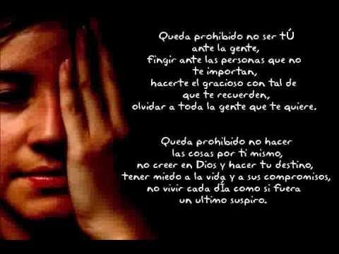 Queda Prohibido...Pablo Neruda...