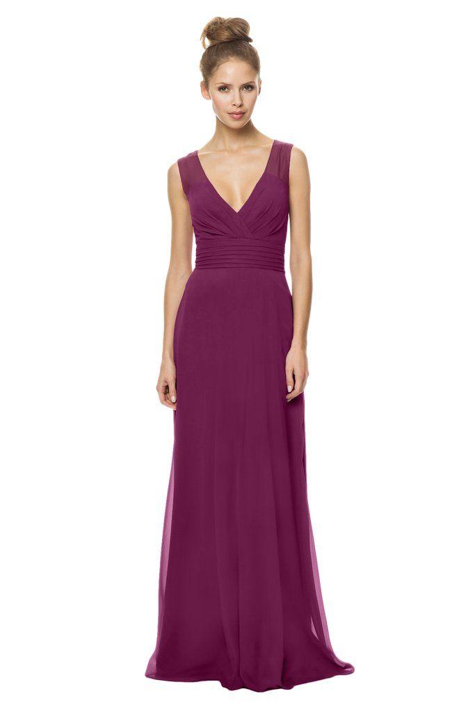 77 mejores imágenes en Chiffon Bridesmaid Dresses en Pinterest ...