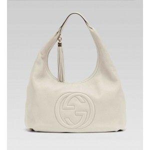 Gucci Soho Large Hobo Off-White BXS