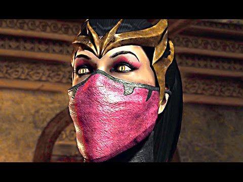 mortal kombat x full movie all cutscenes 1080p 60 fps pc
