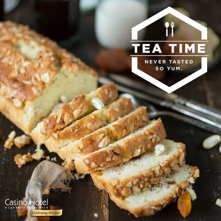 This soft, buttery tea cake, with the crunchiness of apricots and cashewnuts, is absolutely divine. Rich in proteins, it's perfect as an evening tea time snack or breakfast cake. Call 0484 286 4711 and order it from Casino Hotel, Kochi.