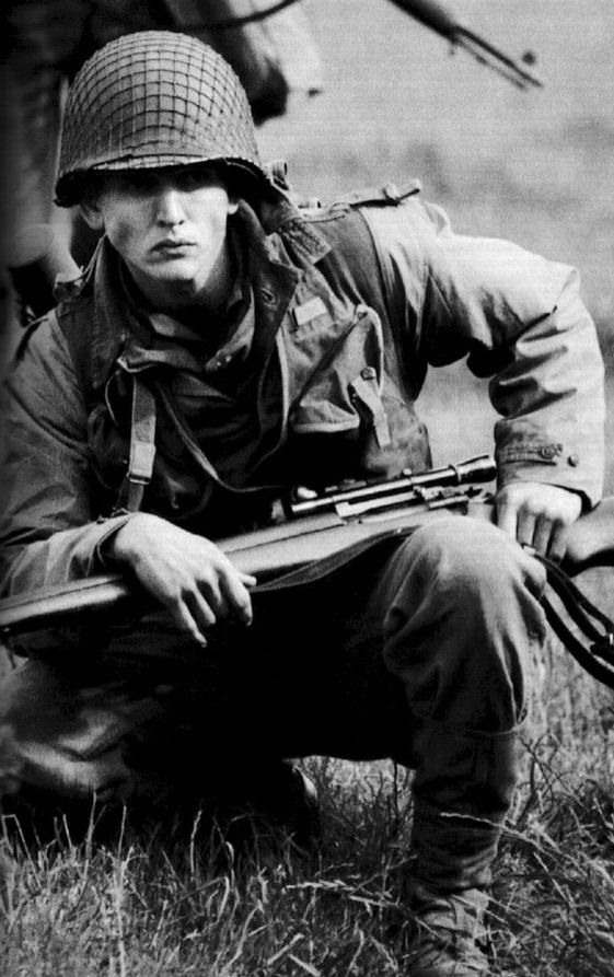 Pvt. Daniel Jackson - Barry Pepper - Saving Private Ryan. Barry Robert Pepper (born April 4, 1970) is a Canadian actor.