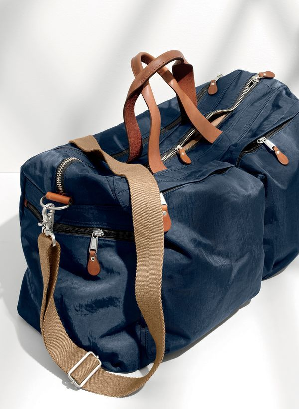 NOV '15 Style Guide: J.Crew men's Harwick weekender bag.