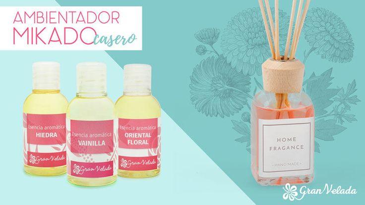 Ambientador mikado casero: compartimos con vosotr@s esta receta para preparar diy ambientador mikado,una manualidad ideal para regalar como detalle de boda.