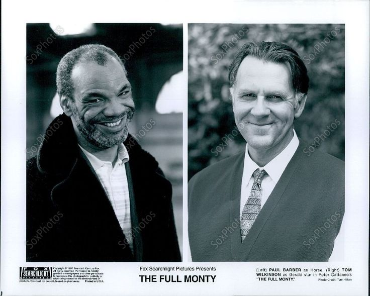 LG200 1997 Comedy The Full Monty Actors Paul Barber & Tom Wilkinson Photo