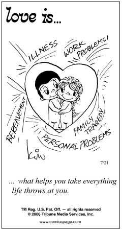 Love is.... ~the old comic strip~ - Happily Married - Care2.com