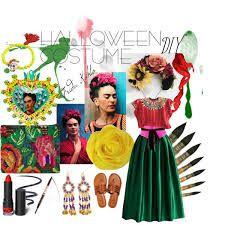 Image result for diy frida kahlo WITH DREADS