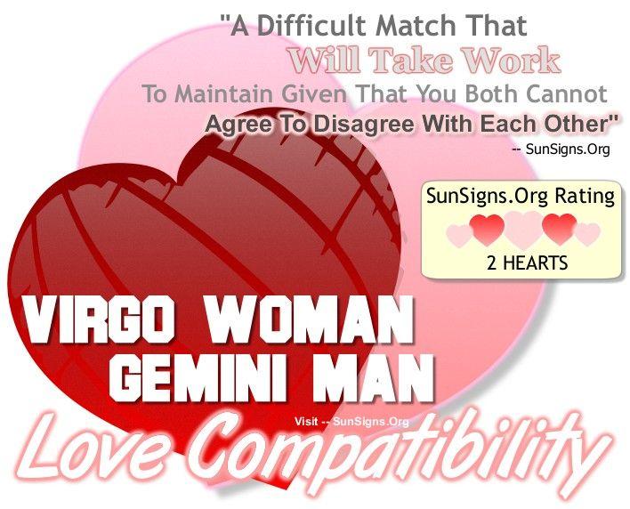 Virgo woman dating cancer man