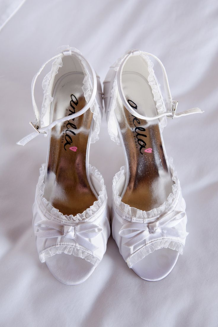 Anella wedding shoes.