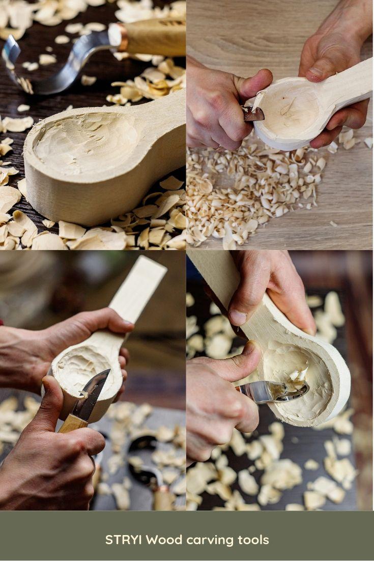 Whittling Knife For Wood Carving 2 50mm Chip Sloyd Knife