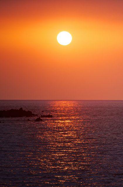 Hawaiian Sunset #Hawaiian #sunset My favorite place!! #ocean Beautiful