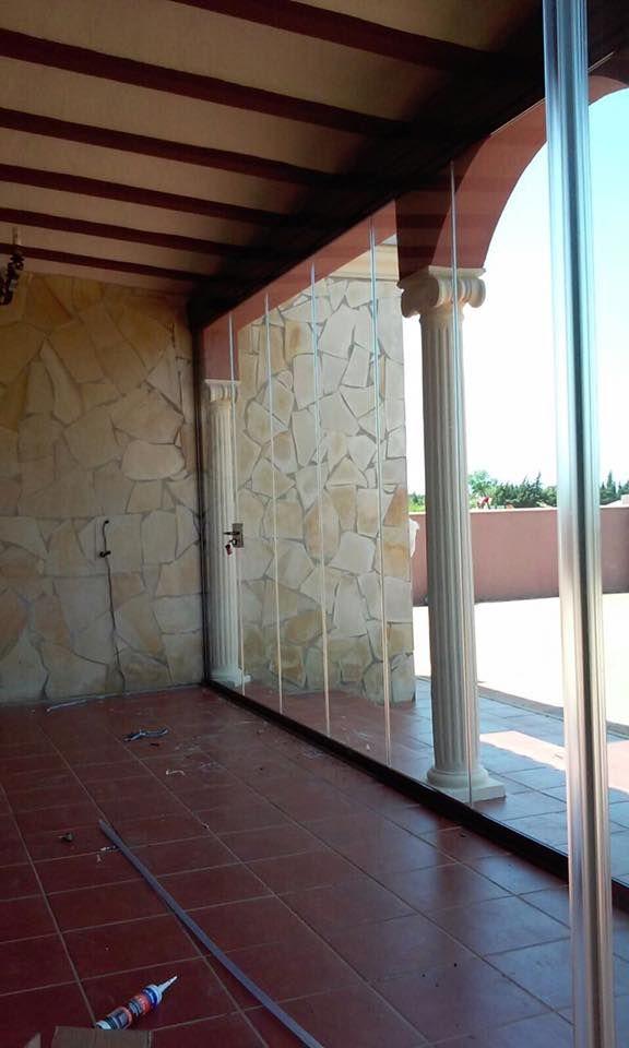 Cerramientos para terrazas en jardines, porches y terrazas diseños - cortinas para terrazas