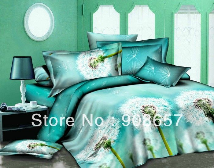 Turquoise Bed Sheets Full | Queen Bed Dimensions