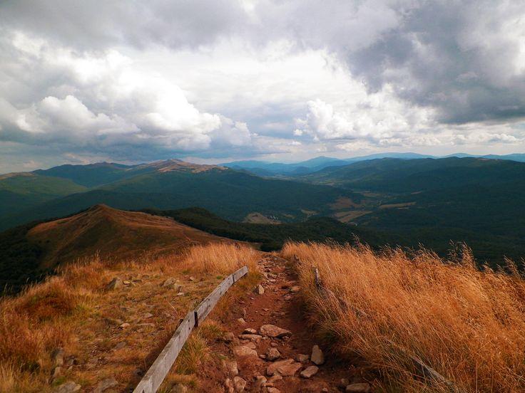 Widok z Połoniny Caryńskiej. Bieszczady Mountain Poland 2015. #Bieszczady #Mountain #PołoninaCaryńska