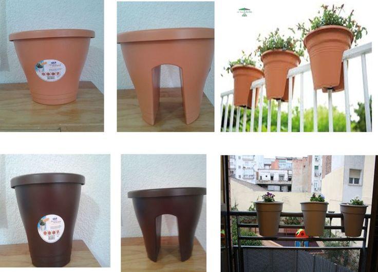 Macetas especiales para balcones macetas originales para - Macetas para balcones ...
